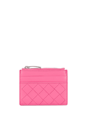 Bottega Veneta interwoven design purse - PINK