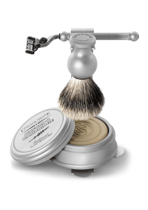 Czech & Speake - Oxford & Cambridge Shaving Set & Stand - Men - Colorless