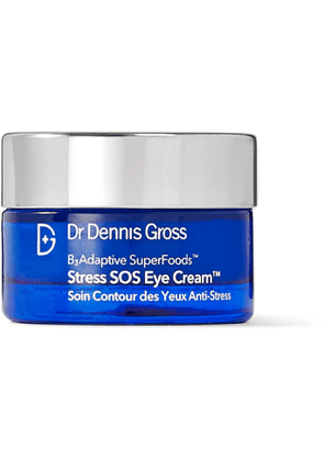 Dr. Dennis Gross Skincare - B3 Adaptive SuperFoods Stress SOS Eye Cream, 15ml - Men - Colorless