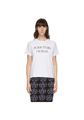 Ashley Williams White Dog Years T-Shirt