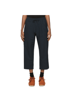 Nanamica Navy Wool Easy Trousers