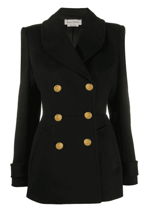 Alexander McQueen double-breasted blazer - Black