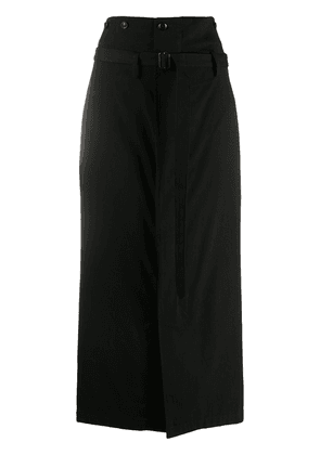 Y's high-waist skirt - Black