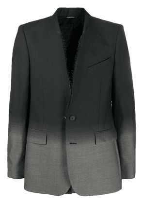 Givenchy single-breasted gradient blazer - Black