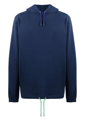 PS Paul Smith casual plain hoodie - Blue