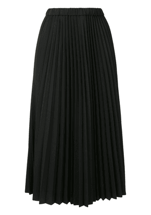 Jil Sander pleated midi skirt - Blue