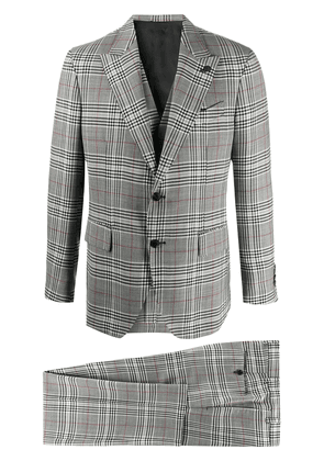 Gabriele Pasini check single-breasted suit - Grey