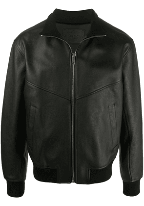 Givenchy leather bomber jacket - Black