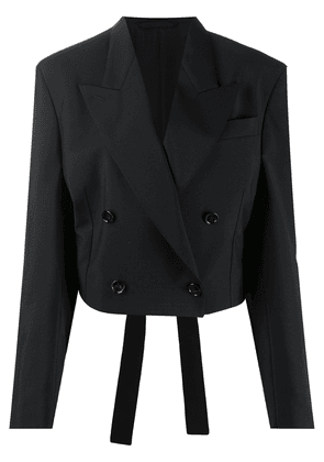 Acne Studios double-breasted tailored jacket - Black