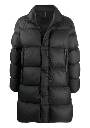 Moncler padded down coat - Black