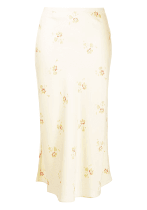 Polo Ralph Lauren floral loose skirt - Neutrals