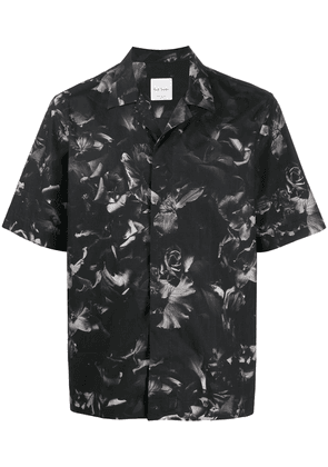 Paul Smith floral print short-sleeved shirt - Grey