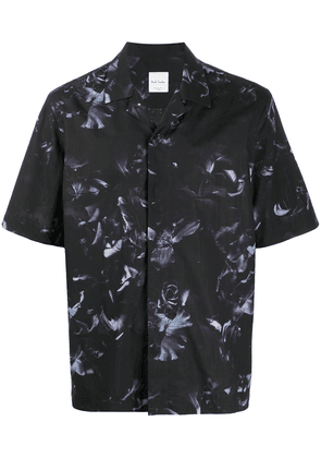 Paul Smith floral print short-sleeved shirt - Black