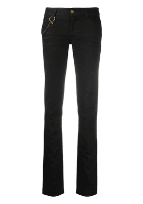 Gucci GG chain detail skinny jeans - Black