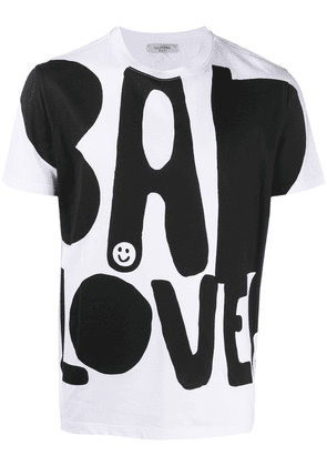 Valentino Bad Lover print T-shirt - White