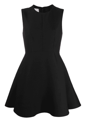Valentino sleeveless flared dress - Black