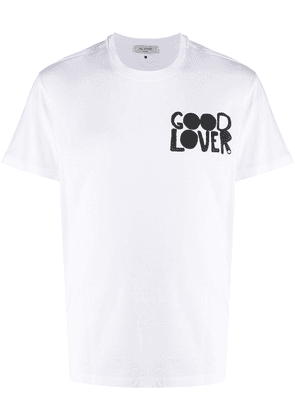 Valentino Good Lover print T-shirt - White
