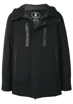 Save The Duck Mevery detachable-sleeve padded jacket - Black