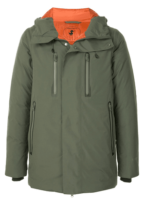Save The Duck Every detachable-sleeve padded jacket - Green