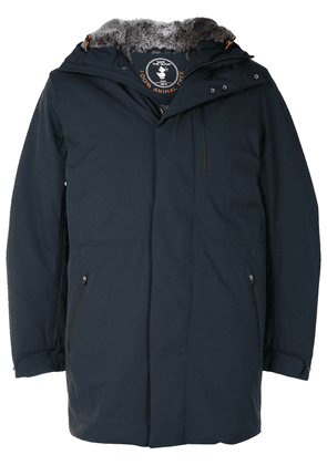 Save The Duck Wony hooded raincoat - Blue