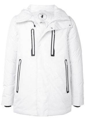 Save The Duck Mevery detachable-sleeve padded jacket - White
