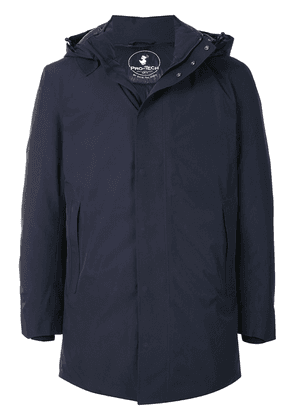Save The Duck Heroy hooded padded jacket - Blue