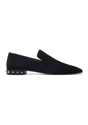 Christian Louboutin Navy Marquees Loafers