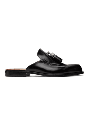 Christian Louboutin Black Rivaslide Loafers
