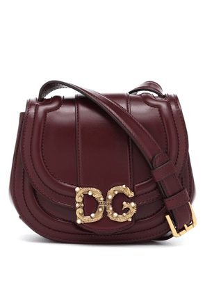 DG Amore Small leather crossbody bag
