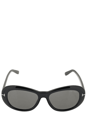 Elodie Oval Acetate Sunglasses
