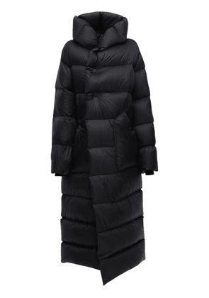 Oversize Nylon Down Coat