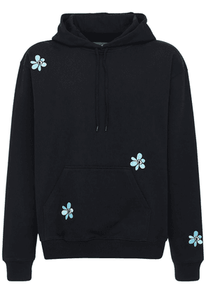 Logo Embroidery Cotton Sweatshirt Hoodie