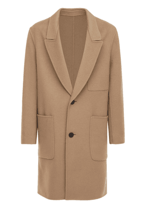 Deconstructed Wool & Cashmere Coat
