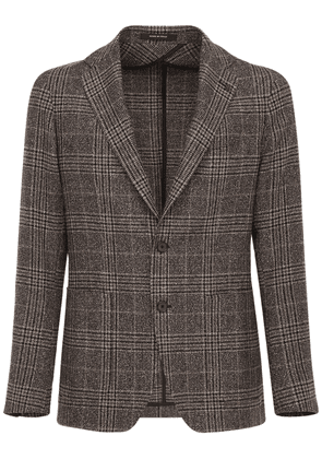 Single Breasted Wool Blend Jacket