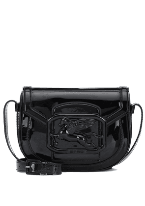Exclusive to Mytheresa – Pegaso patent leather shoulder bag