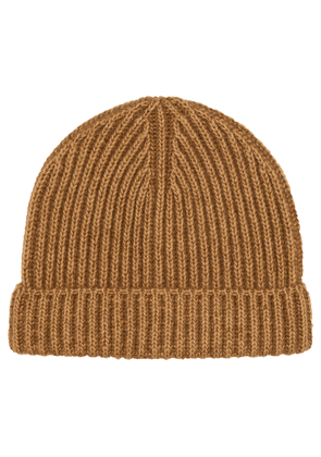 Ribbed-knit beanie