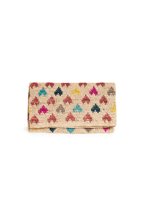 Mar Y Sol Tula Heart Clutch
