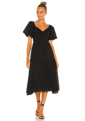 ASTR the Label Sonnet Dress in Black. Size S,XS,M.