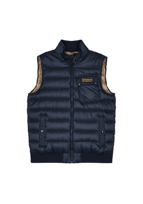 Belstaff Streamline Navy Quilted Shell Gilet