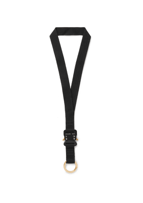 1017 ALYX 9SM - Webbing Lanyard - Men - Black