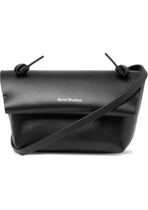 ACNE STUDIOS - Small Leather Messenger Bag - Men - Black