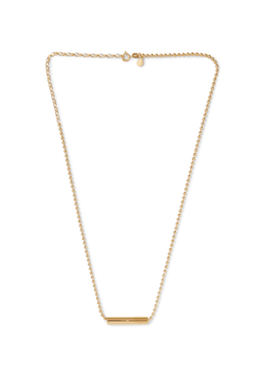 Alice Made This - Charlie Gold-Plated Necklace - Men - Silver