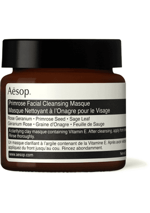 Aesop - Primrose Facial Cleansing Masque, 60ml - Men - Colorless