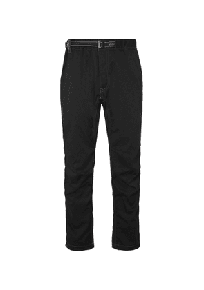 And Wander - Tapered Woven Trousers - Men - Black