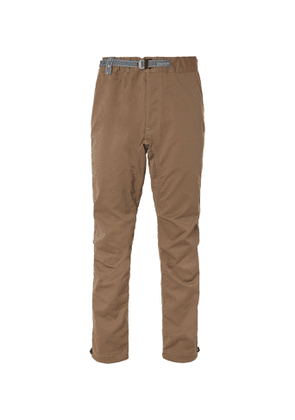 And Wander - Tapered Woven Trousers - Men - Green