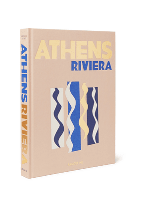 Assouline - Athens Riviera Hardcover Book - Men - Brown
