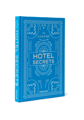 Assouline - The Luxury Collection: Hotel Secrets Hardcover Book - Men - Blue