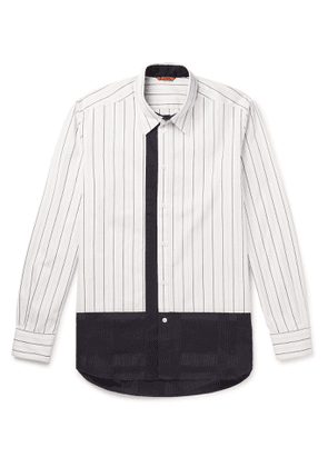 Barena - Striped Cotton Shirt - Men - White