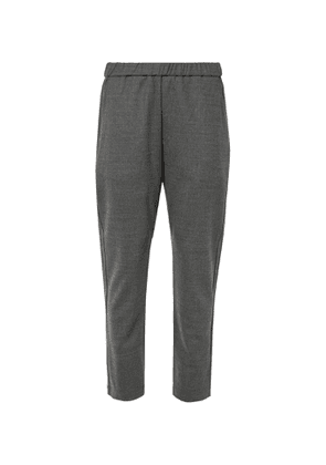 Barena - Tapered Wool-Blend Trousers - Men - Gray
