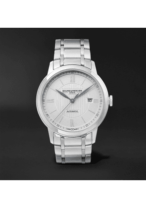 Baume & Mercier - Classima Automatic 42mm Stainless Steel Watch, Ref. No. 10334 - Men - Silver